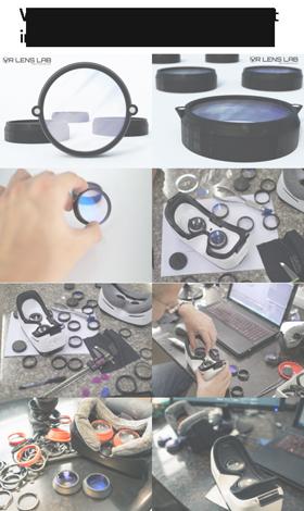 Prescripton glasses for Virtual Reality headsets