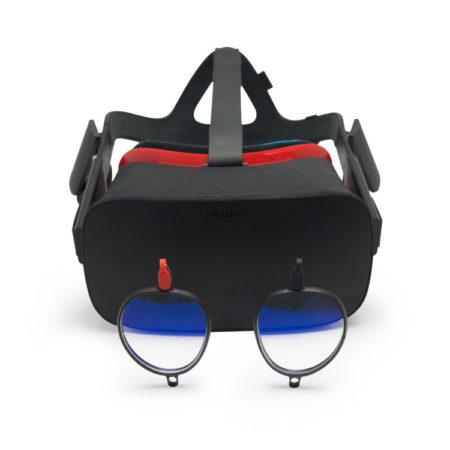 Oculus Rift with Prescription Lenses