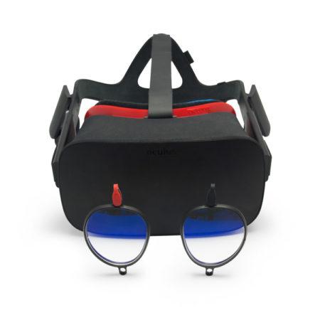 Oculus Rift with Prescription Lenses
